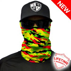 RASTA-MILITARY-CAMO Face Shield