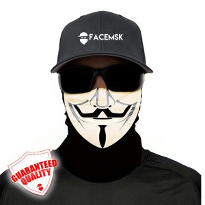 Anonymous Mask Face Shield - Face Mask