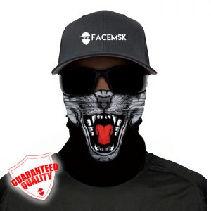 Panther Face Shield - Face Mask