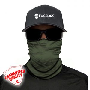 Tactical Green Face Shield - Face Mask